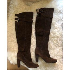 Sam Edelman Sutton boots brown suede